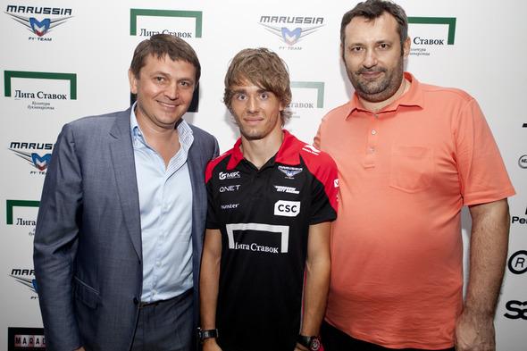 В Москве состоялась вечеринка российской гоночной команды Marussia F1 . Изображение № 2.