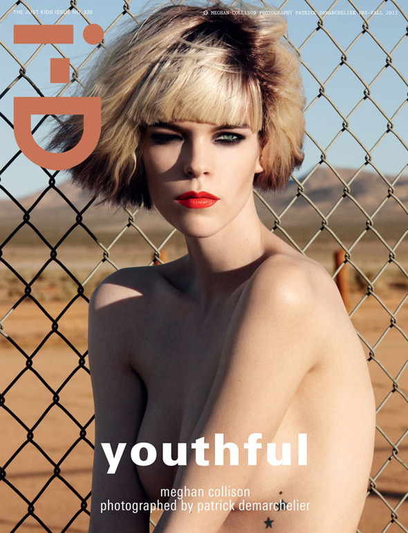 Обложки: Dazed & Confused, i-D, Vogue. Изображение № 4.