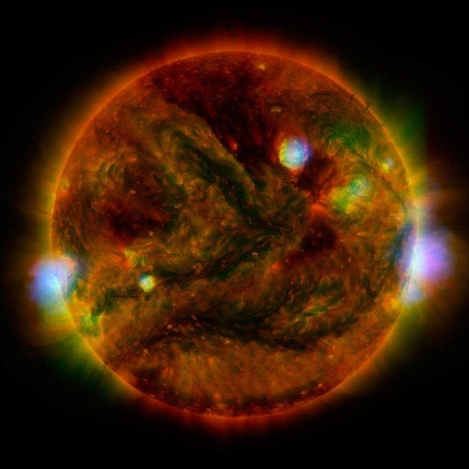 Солнце врентгеновском спектре— Кадр Дня