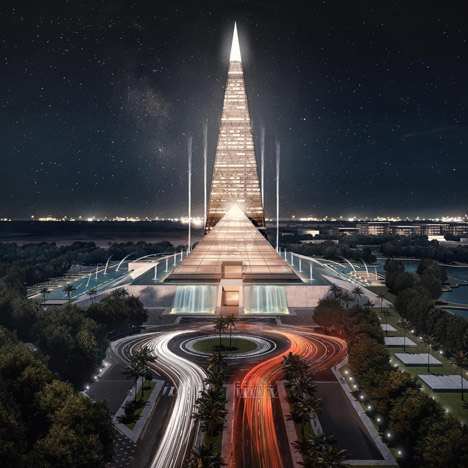 В Египте построят небоскрёб-пирамиду . Изображение № 1.