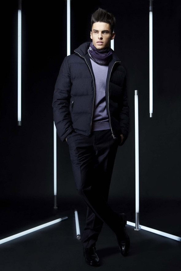 Изображение 24. Лукбуки: Bergdorf Goodman, Lagerfeld и Armani Exchange.. Изображение № 23.