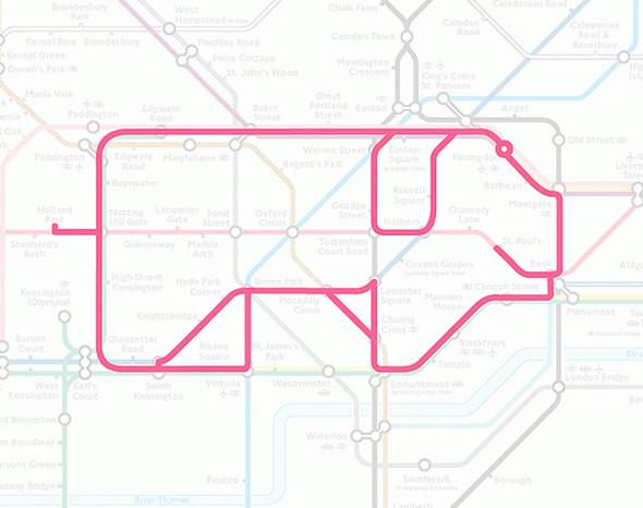 Осторожно! Звери в лондонском метро!. Изображение № 13.