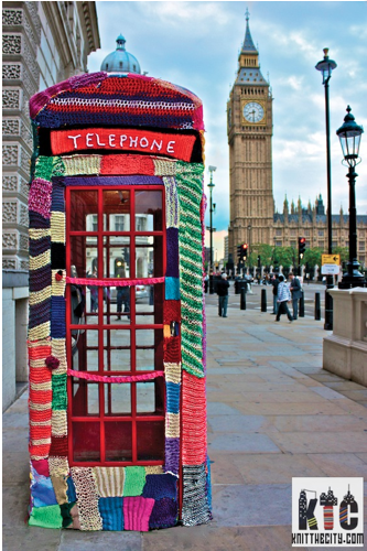 Вязаное граффити в Лондоне переходит на легальное положение. Изображение № 3.