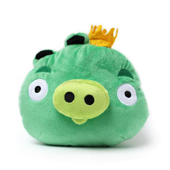 Король свиней в Angry Birds - это самая большая хрюшка и самая прочная. Можно считать «босcом», так как присутствует в последнем уровне каждого эпизода.. Изображение № 1.
