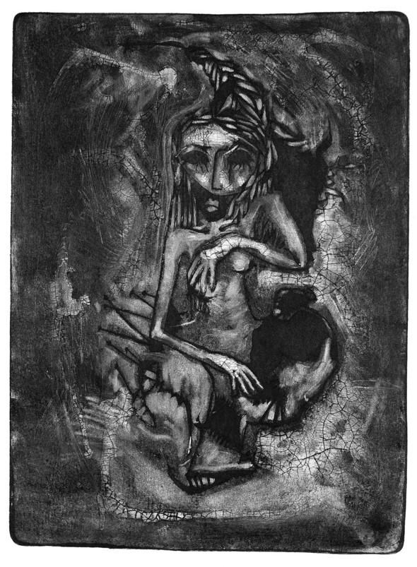 Ручная графика Ирины Сазоновой «Эхо». Изображение № 17.