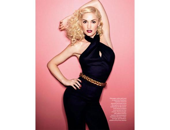 Гвен Стефани в британском Elle. Изображение № 25.