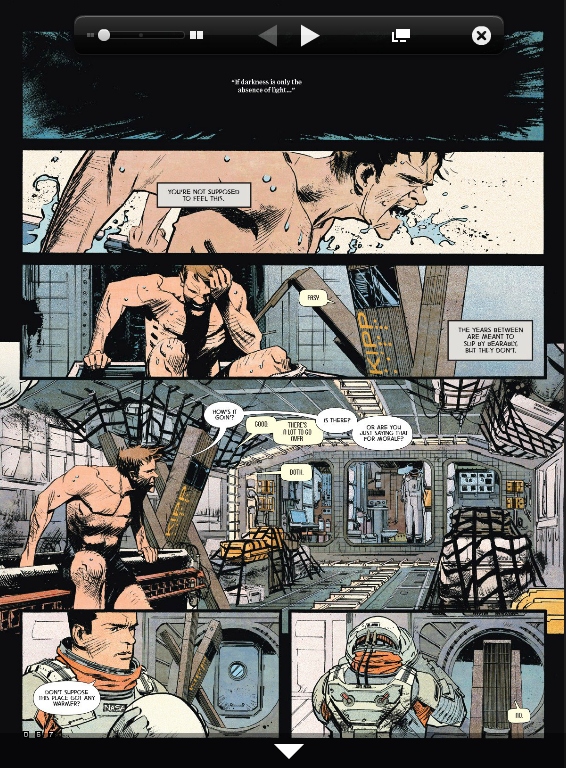 В Сеть выложили комикс-приквел к «Интерстеллару». Изображение № 1.