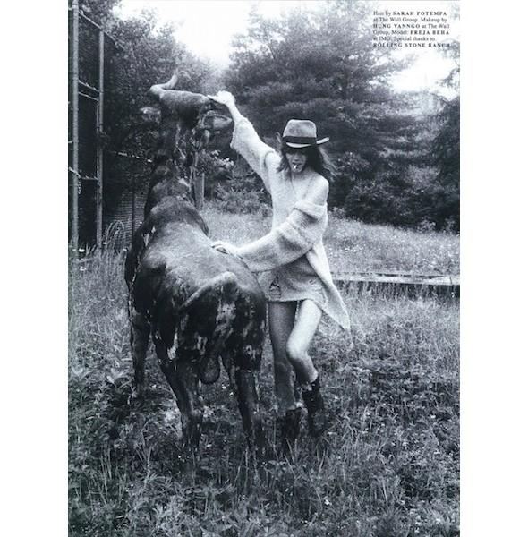 5 новых съемок: Dossier, Muse и Vogue. Изображение № 22.
