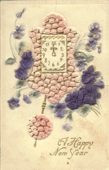 Новогодние открытки 1912 года. Изображение № 2.