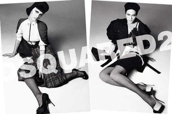 Fashion Advertisements, Выпуск 11 лучшие фотографии изрекламных кампаний модных брендов 2008. Изображение № 17.