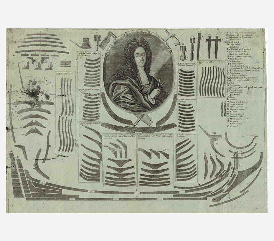 Портрет обор-сарваира флота Ивана Михайловича Головина. Изображение № 30.