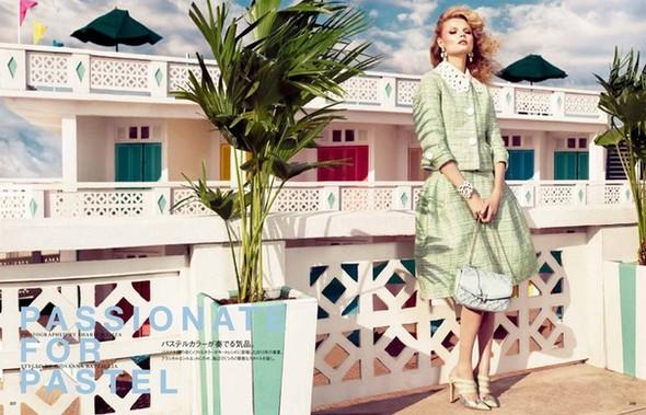Магдoлена Фраковяк для Vogue Japan. Изображение № 2.