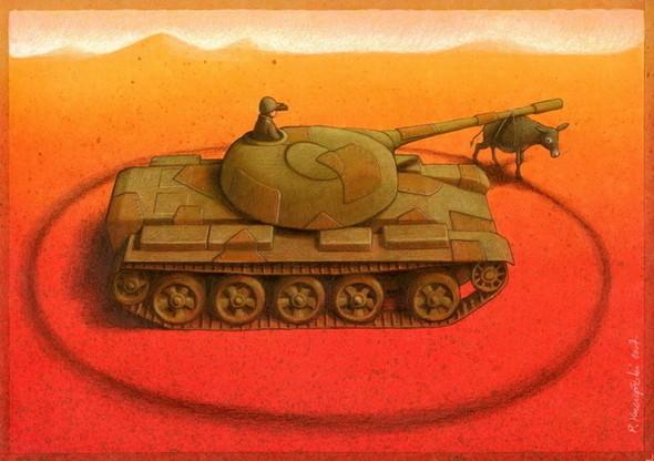Изображение 9. Карикатурист Pawel Kuczynski.. Изображение № 9.