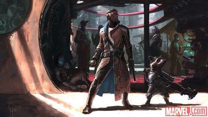 Концепт-арт к фильму «Стражи галактики». Изображение № 12.