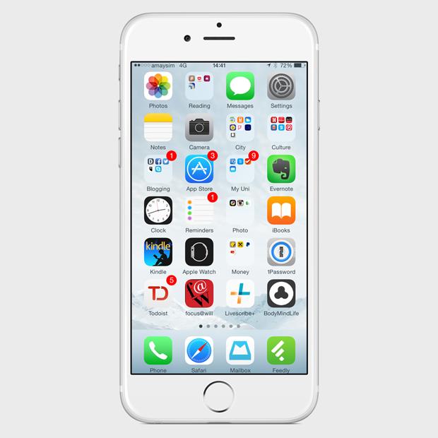 Экран моего смартфона: UX-архитектор Анна Заболотная. Изображение № 1.