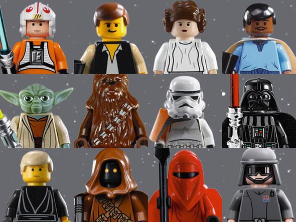 День Звездных Войн. Всеперсонажи Звездных войн отLego. Изображение № 1.