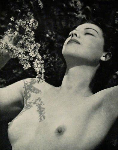 Части тела: Обнаженные женщины на винтажных фотографиях. Изображение №116.