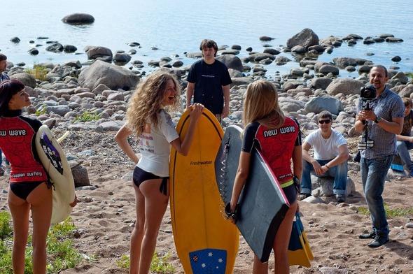 Продолжение съемок клипов про серфинг в Санкт-Петербурге. Изображение № 1.