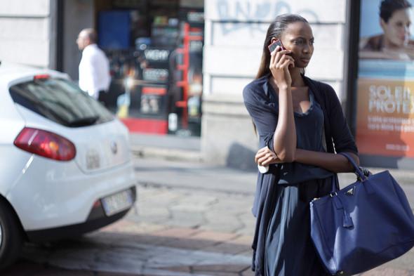 Milan Fashion Week: Модели после показов. Изображение № 15.