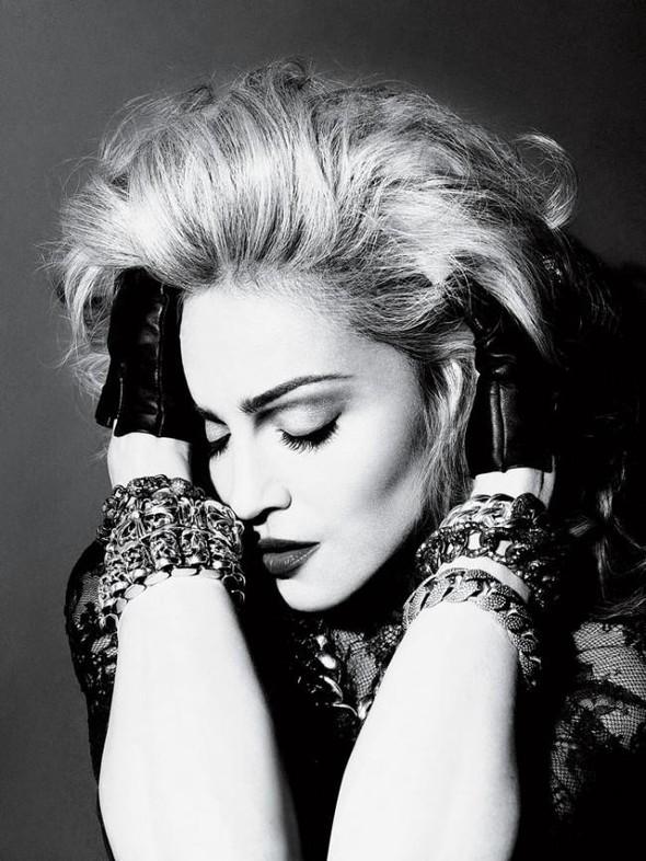 Мадонна в фото Мерта Аласа и Маркуса Пигготта для журнала Interview. Изображение № 1.