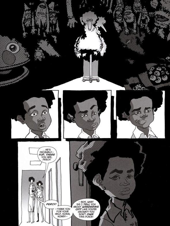 Комиксы легенды хип-хопа. Изображение № 8.