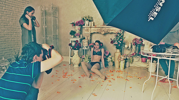 "Bakcstage бренда ""Rose&Petal"" AW-2012. Изображение № 13."