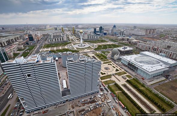 Изображение 17. Астана с высоты птичьего полета.. Изображение № 15.