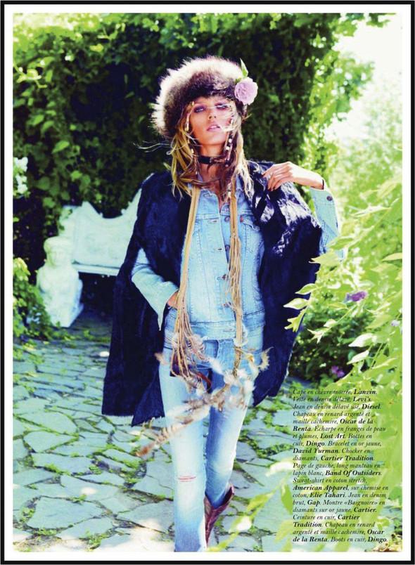 Съёмка: Аня Рубик для Vogue. Изображение № 8.
