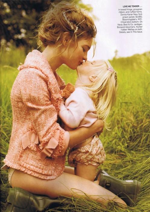 Счастливая мамочка-Наталья Водянова. Изображение № 3.