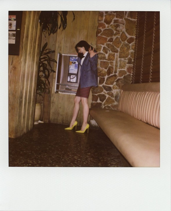 Scott Sternberg, старый поляроид иголливудские актрисы. Изображение № 29.