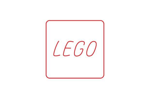 Логотипы популярных брендов перерисовали тонкими линиями. Изображение № 6.