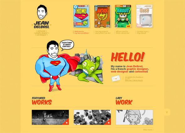 Персонажи в дизайне сайтов. Изображение № 47.