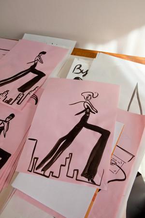 Картинки француской художницы дляVeuve Clicquot. Изображение № 9.