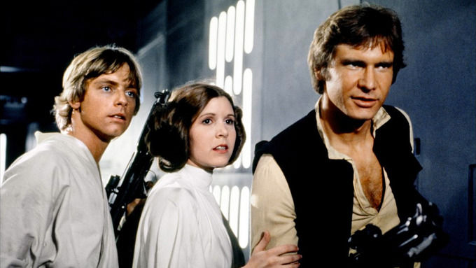 Кадр из оргинальной трилогии «Звездных войн». Изображение № 1.