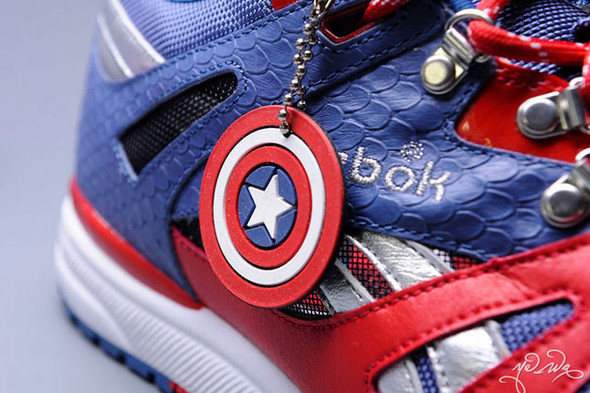 "Marvel x Reebok Ventilator ""Captain America"". Изображение № 1."