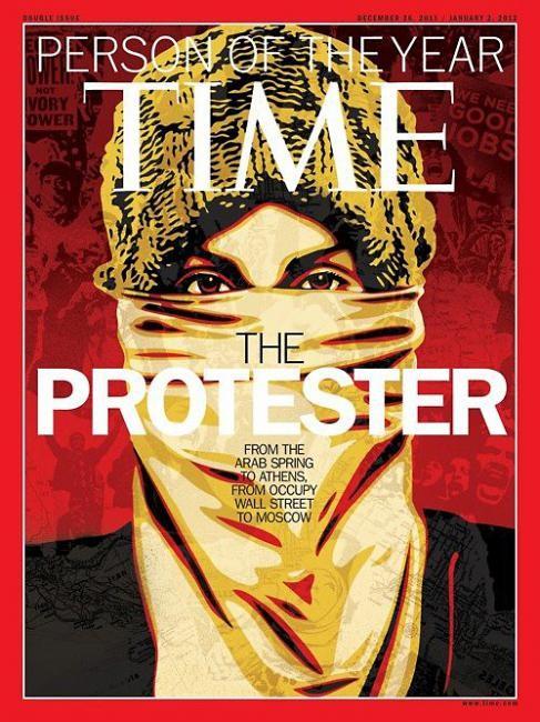 Самые красивые обложки журналов в 2011 году. Изображение № 108.