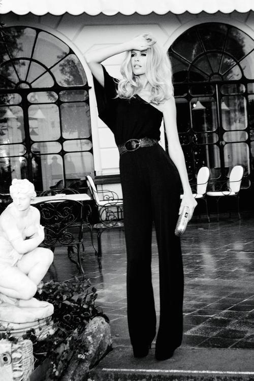 """Клаудия Шиффер в юбилейной рекламной кампании """"Guess?"""". Изображение № 22."""