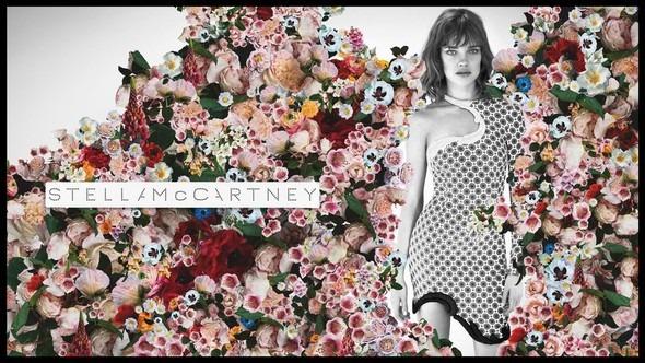 Кампания: Наталья Водянова для Stella McCartney SS 2012. Изображение № 1.