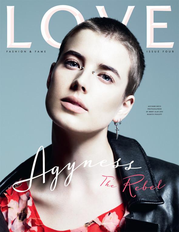 8 обложек журнала Love. Изображение № 6.