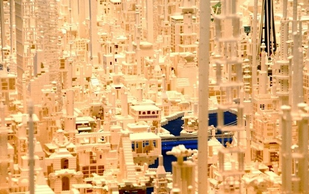 Трехмерная модель Японии из LEGO. Изображение № 5.