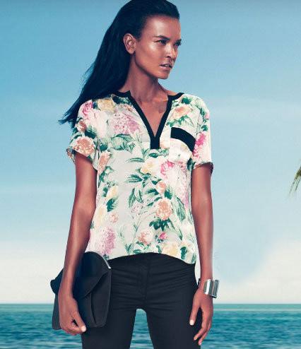 Лукбук: H&M Early Spring 2012. Изображение № 7.