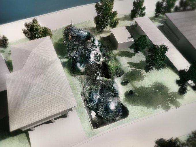 Архитектор предложил концепцию «биологического» дома. Изображение № 2.