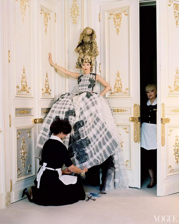 Кейт Мосс в апрельском Vogue US. Изображение № 10.