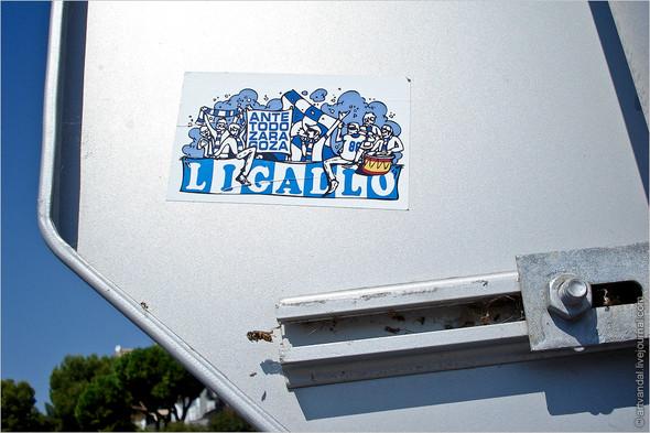 Граффити и стикеры Салоу, Испания. Изображение № 6.