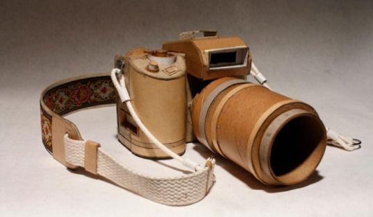 Картонные фотокамеры Киля Джонсона. Изображение № 1.