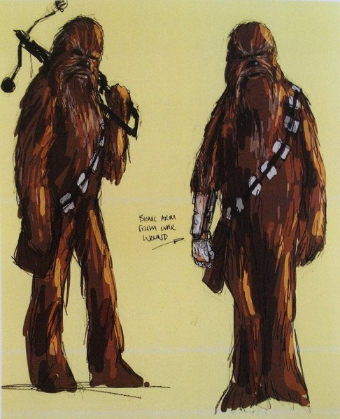 В Сеть выложили 32 концепт-арта для «Звёздных войн VII». Изображение № 26.