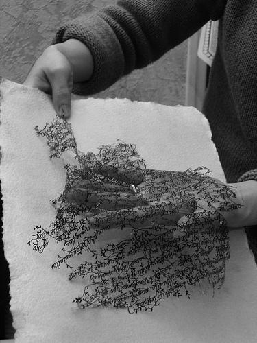 Вырезанные избумаги картины – Hina Aoyama. Изображение № 8.