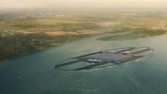 Аэропорт Лондона могут построить в устье Темзы. Изображение № 2.
