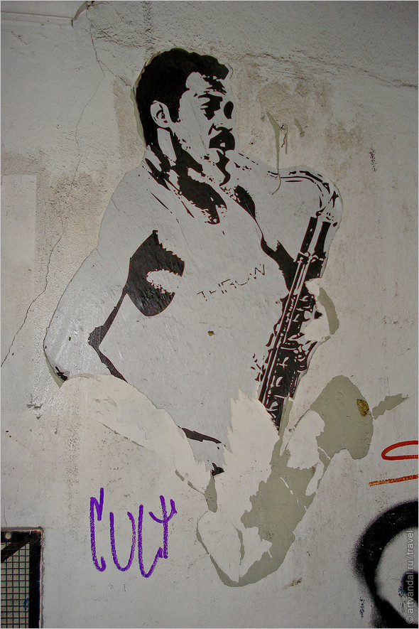 Стрит-арт и граффити Афин, Греция. Часть 2. Изображение № 40.
