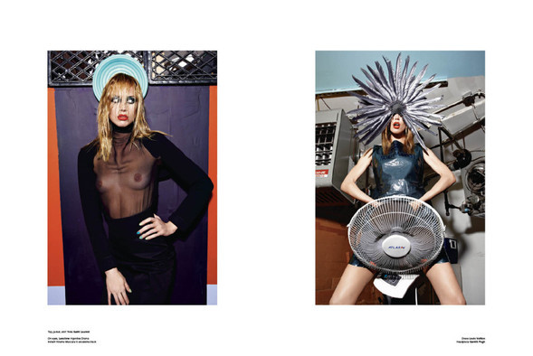 HIGH PERFORMANCE for V Magazine Issue #64. Изображение № 7.